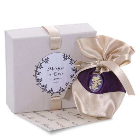 Bijoux en scène - Parfum Violette Gourmande Coussin Senteur Paris
